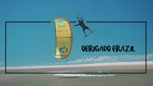 Brasilien / Kitesurf / Obrigado Brazil
