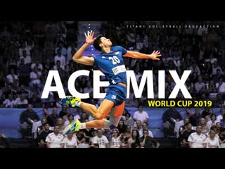 Crazy volleyball aces world cup 2019 skill mix #1 hd