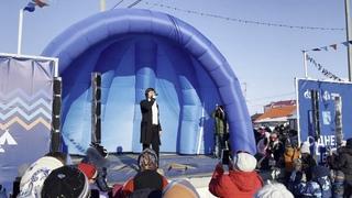 Выступление Прохора Шаляпина на национальном празднике жителей Ямала - Дне оленевода.