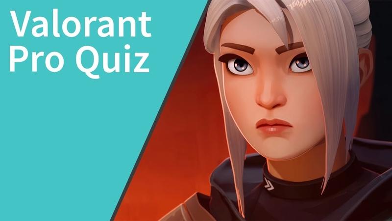 Valorant Pro Quiz Answers 100% Quiz Diva