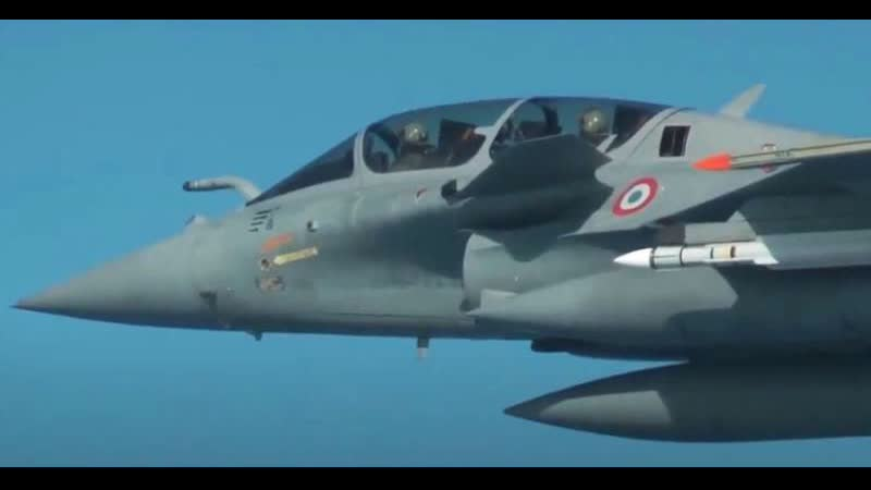 French Rafale B testing the Meteor air to air missile