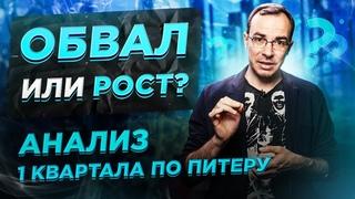 Обвал или рост цен на рынке недвижимости? Анализ рынка Санкт-Петербурга и Ленинградской области.