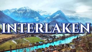 Швейцария Интерлакен   Швейцарские Альпы   Монастырь и Старый Город