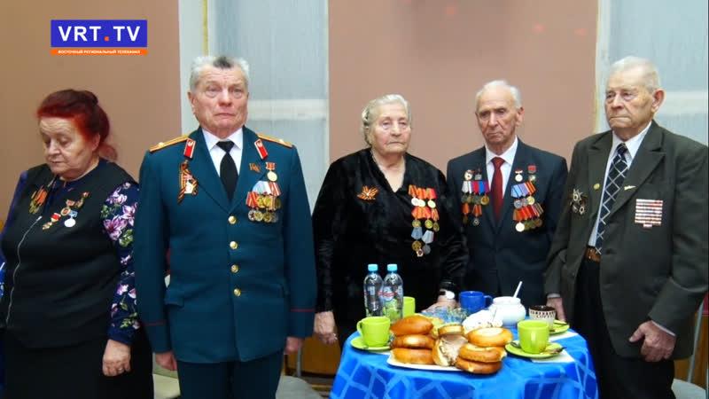 Дорогами Победы. Участники клуба ветеранов отметили годовщину снятия блокады Ленинграда.
