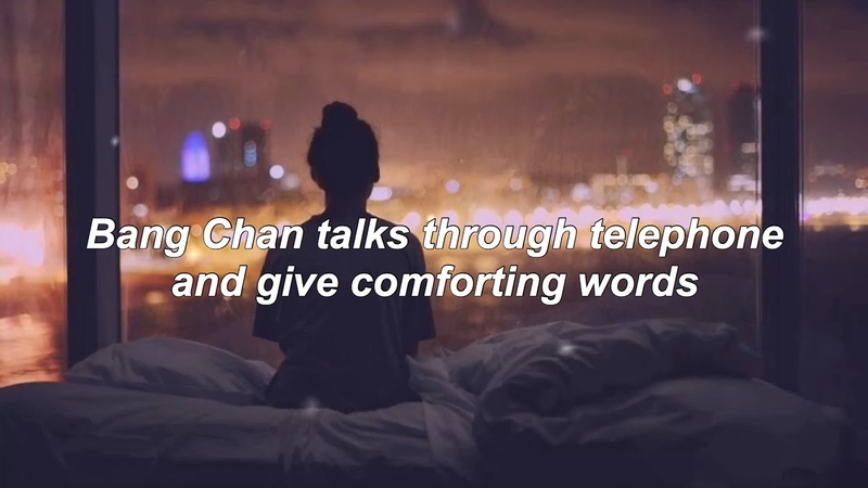 Bang chan talks through telephone and give comforting words 🎧