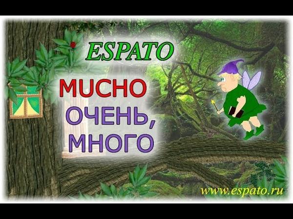 Испанский язык Урок 10 Muy y mucho - очень №1 - Mucho (www.espato.ru)