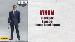 Фигурка James Bond 007 - Black Box - Spectre - Daniel Craig