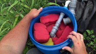 Фильтр для пруда своими руками (Часть 2). Обслуживание и чистка. Teichfilter selber bauen.