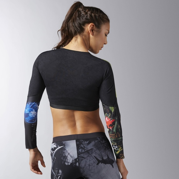 Укороченная компрессионная футболка Reebok CrossFit image 2