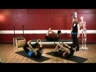Upside-Down Pilates - Advanced Level Abdominal - Lesson 46 - Full 30 Minute Pilates Workout - HD