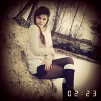 Фотография страницы Олександры Несторик ВКонтакте