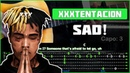 XXXTENTACION - SAD!   Разбор песни на гитаре   Табы, аккорды и бой