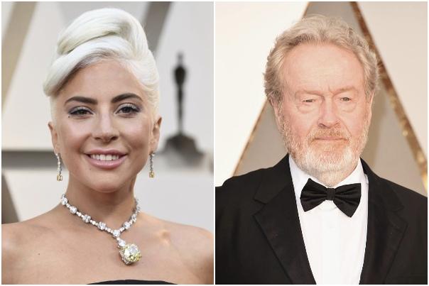Леди Гага сыграет в новом фильме Ридли Скотта
