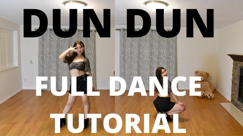 EVERGLOW 에버글로우 'DUN DUN FULL DANCE TUTORIAL MIRRORED PT.2 Lishalovedance