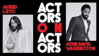 Jared Leto & John David Washington on 'Tenet,' 'Little Things' And More   Actors on Actors
