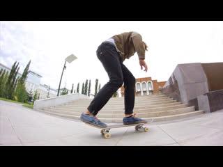 Виталя из ЛАУД на скейте