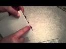 Видео о том как сделать открытку с помощью машинки для вырубки и тиснения