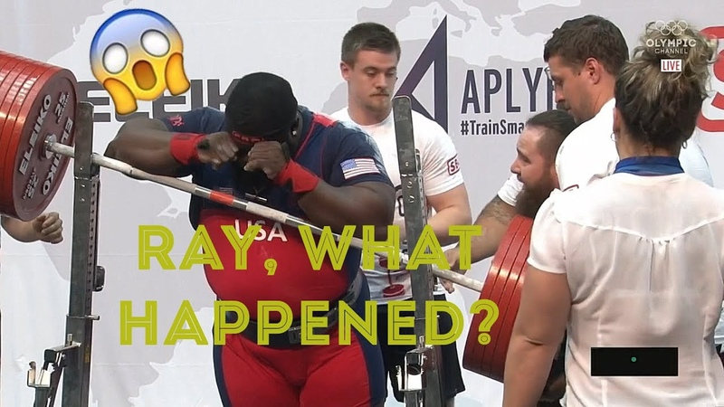Ray Williams FAIL in IPF World Classic Championships 2019