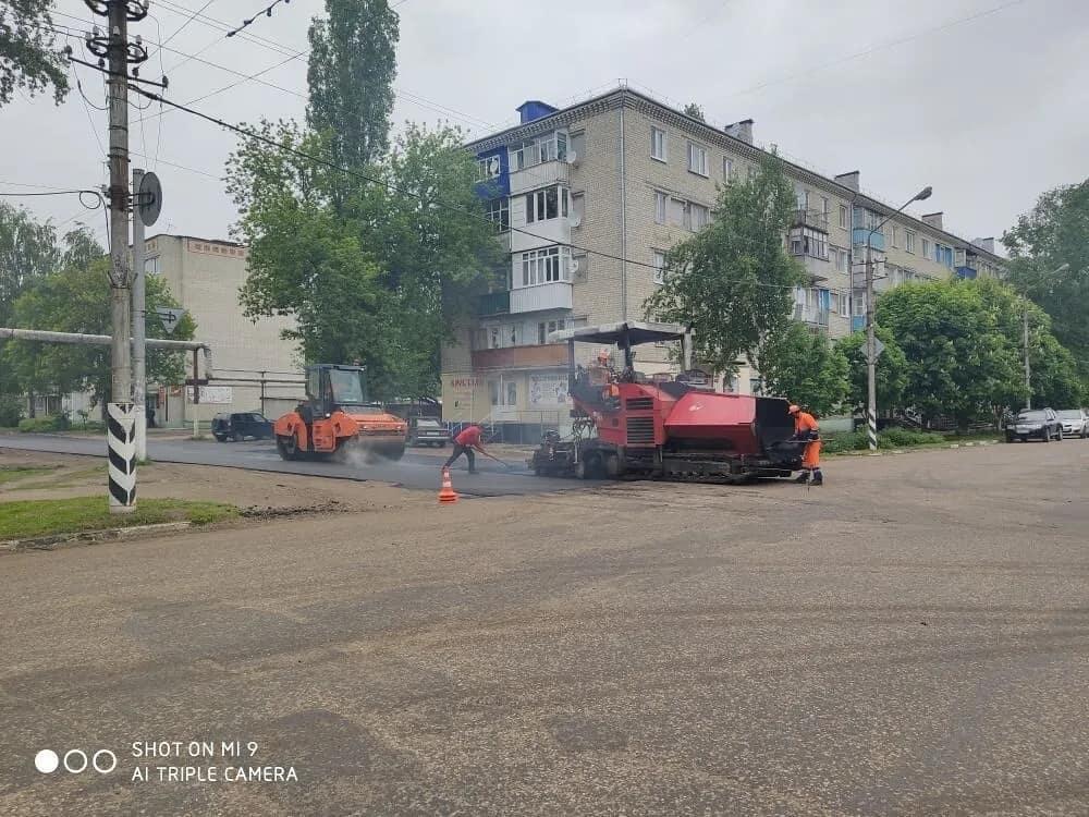 В Петровске продолжается ремонт дорог и дворовых территорий