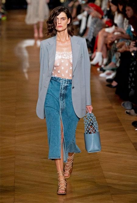 Самые модные юбки лета 2020, изображение №4