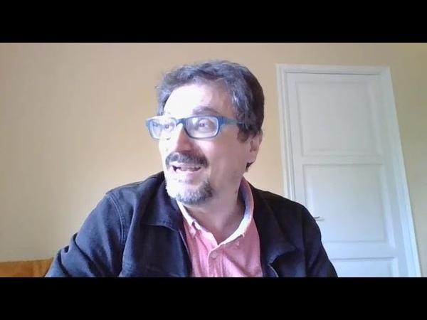Albert Sánchez Piñol respon als estudiants II Seminari de traducció literària del català al rus