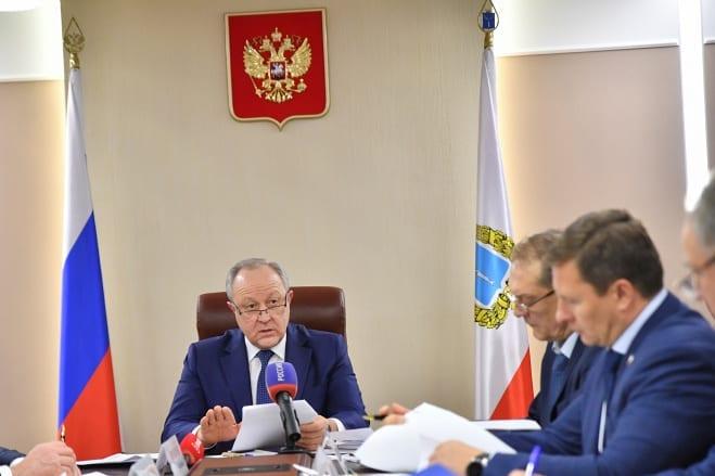 Губернатор Валерий Радаев дал поручения в связи с реорганизацией структуры правительства области