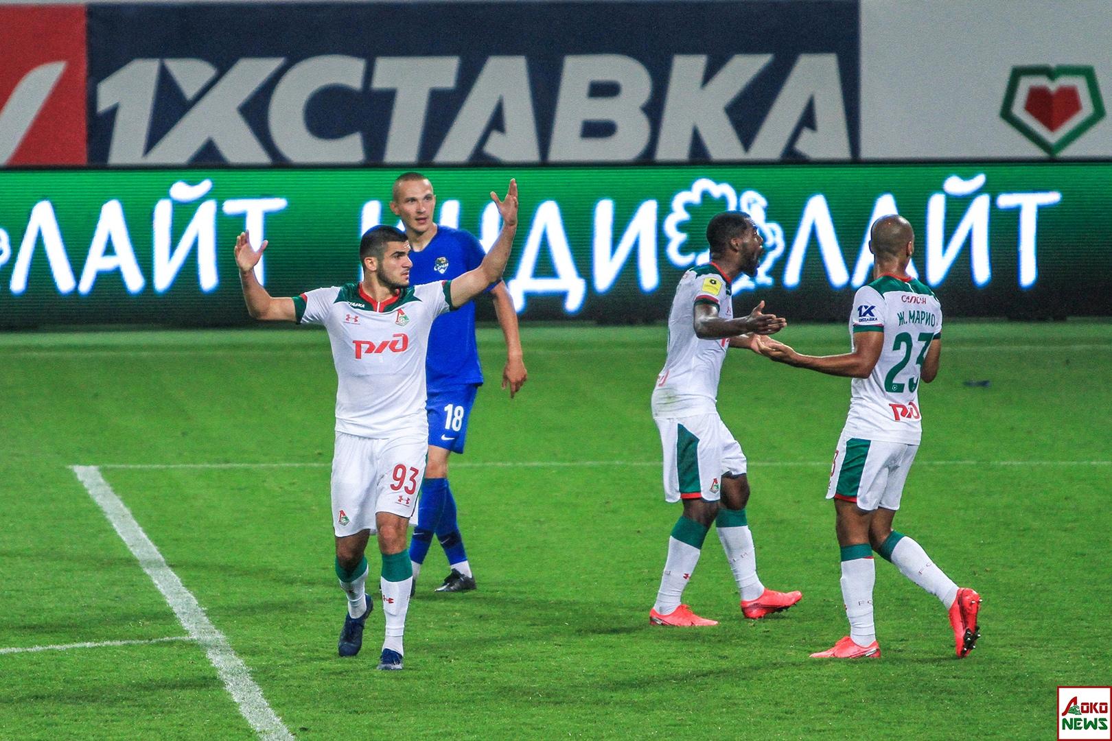 Локомотив - Сочи. Фото: Дмитрий Бурдонов / Loko.News
