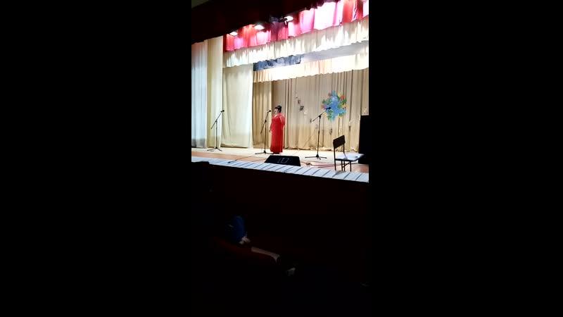 Дороги России исполняет Алтынай Муханова Комсомольский СДК