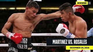 FULL FIGHT | Julio Cesar Martinez vs. Cristofer Rosales (DAZN REWIND)
