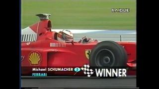 F1 Silverstone 1998 -  vince il Gran Premio scontando la penalità ai box