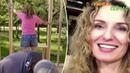 Мать-одиночка с 4 детьми ПОСТРОИЛА частный дом по урокам на YouTube!