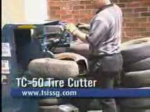 TSI TC-50 Tire Cutter Instructional Video from All Tire Supply