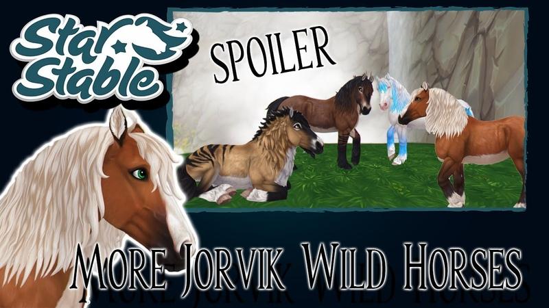 🌈Цвета Дикой лошади Йорвика и стили причёсок которые ещё не появились в игре