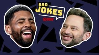 Kyrie Irving & Uncle Drew Cast   Bad Joke Telling