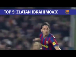 Zlatan500 congratulations @ibra_official for scoring500 goals as a professional! a football star who left his mark at barça