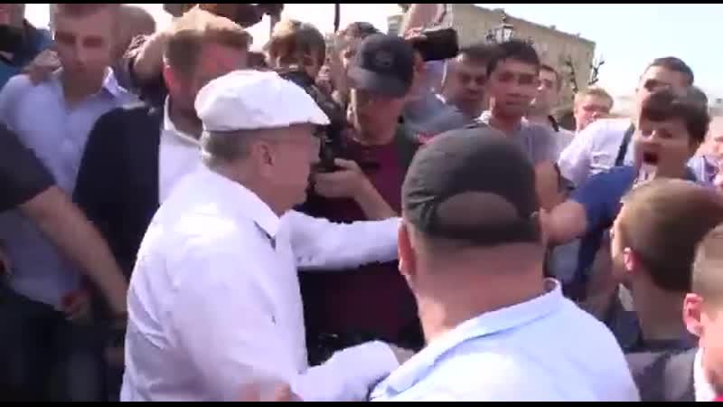 Жириновский рассердился
