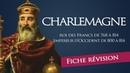 Fiche révision : Charlemagne - roi des Francs empereur d'Occident