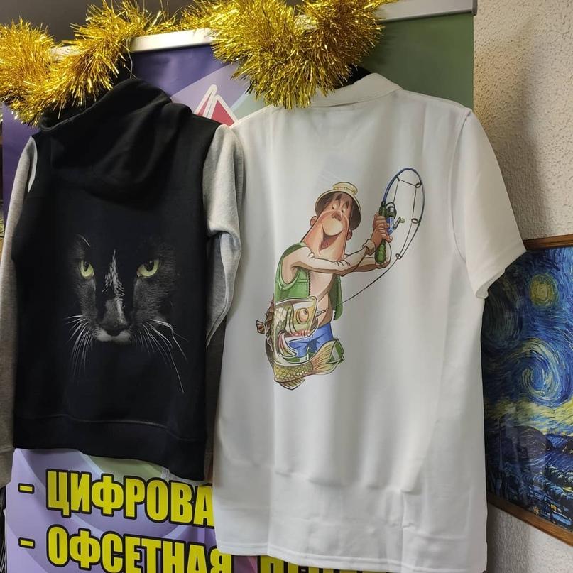 Печать на толстовках и рубашках Polo. - Типография Седьмой Легион